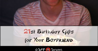 21st Birthday Gifts For Boyfriend
