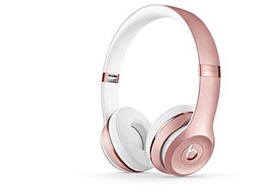 Beats Solo3 Wireless On Ear Headphones Rose Gold