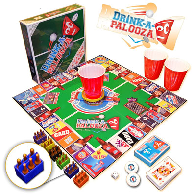 Drink A Palooza Board Game