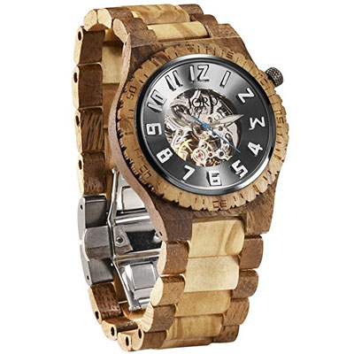 Jord Wooden Watches Dover Series Skeleton Automatic