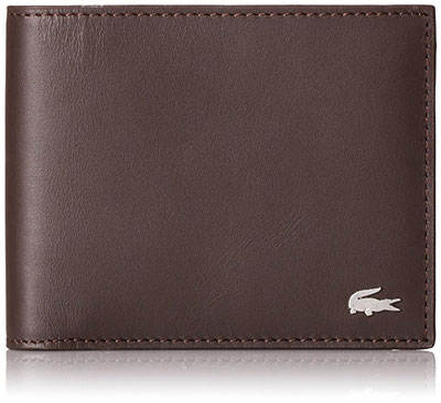 Lacoste Mens Fg Large Billfold Wallet