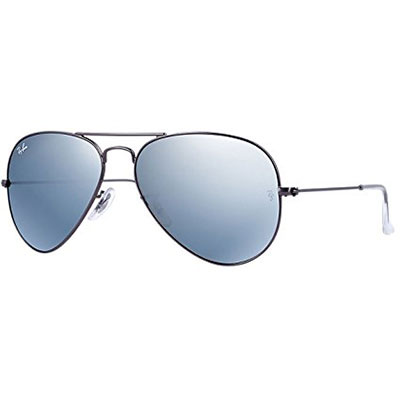 Ray Ban 3025 Aviator Large Metal Mirrored Non Polarized Sunglasses