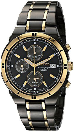 Seiko Mens Snaa30 Stainless Steel Two Tone Watch