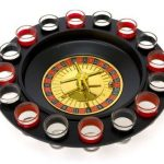 Shot Glass Roulette Drinking Game Set